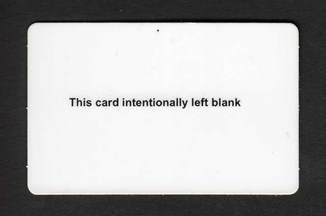 Blank Insurance Card on Progressive Auto Insurance Card