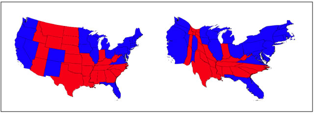cartogram-us-election-maps