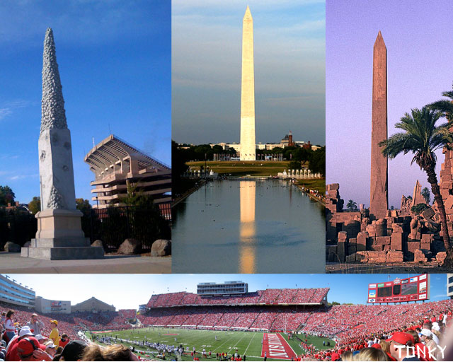 Madison Erects Giant Phallic Tower To >> Uw Football Obelisk A Phallus For The Ages Tonky S Blog